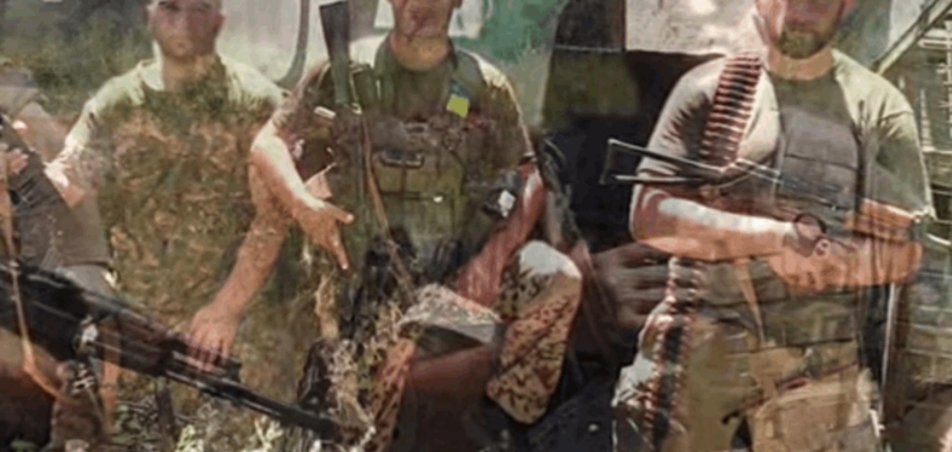 Чеченцы воюют на Донбассе со словами 'Слава Украине': видеофакт