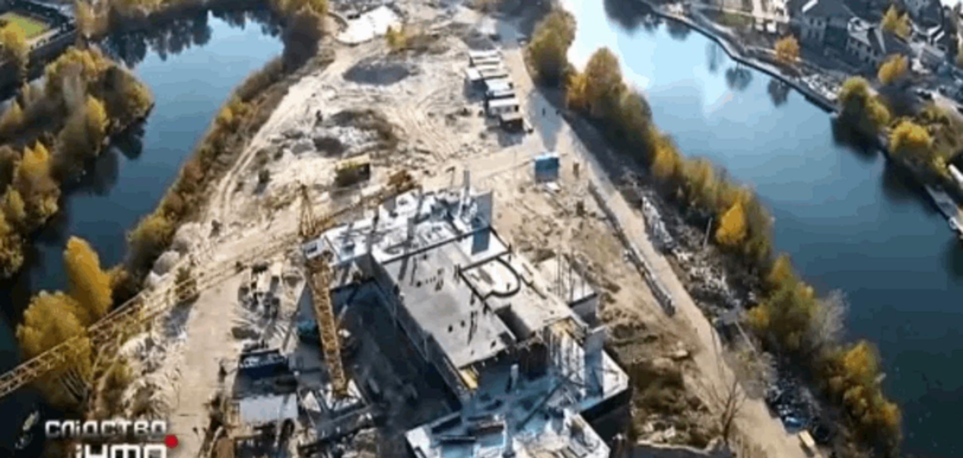 Золотые гектары: журналисты нашли под Киевом элитные имения украинских вельмож