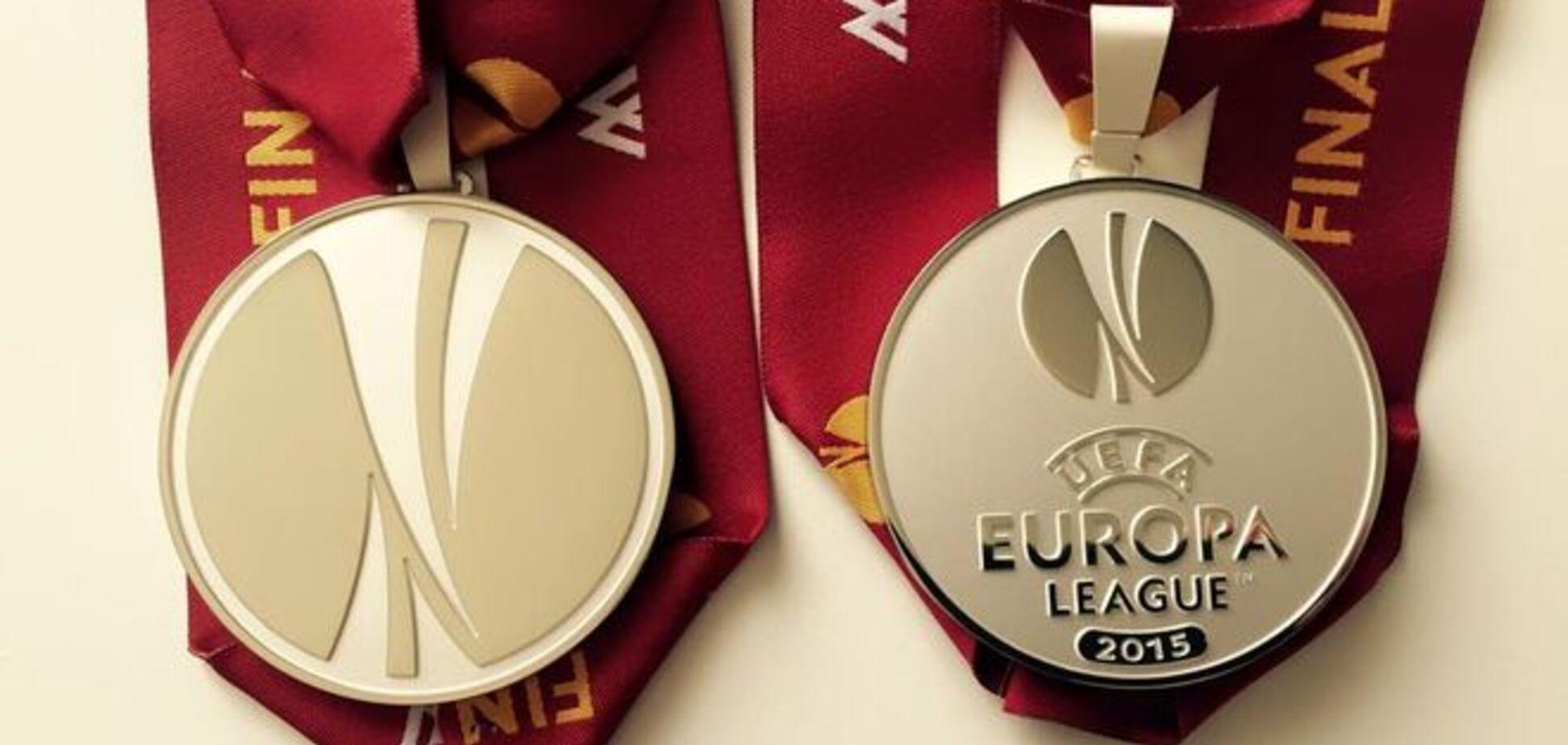 'Днепр' показал награды финалистов Лиги Европы