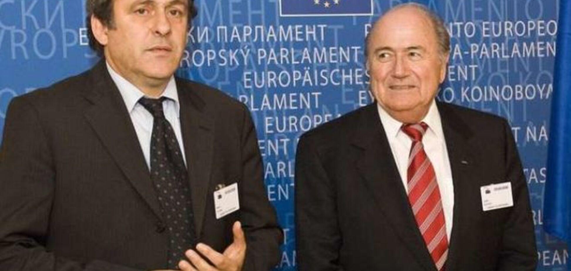 Платини пригрозил выходом Европы из ФИФА