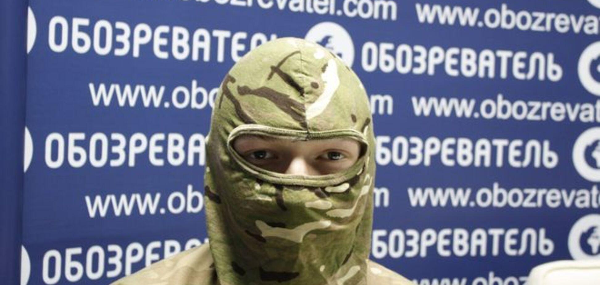 Доброволец-'правосек' из Беларуси: я не могу вернуться домой, на вокзале возьмут КГБшники