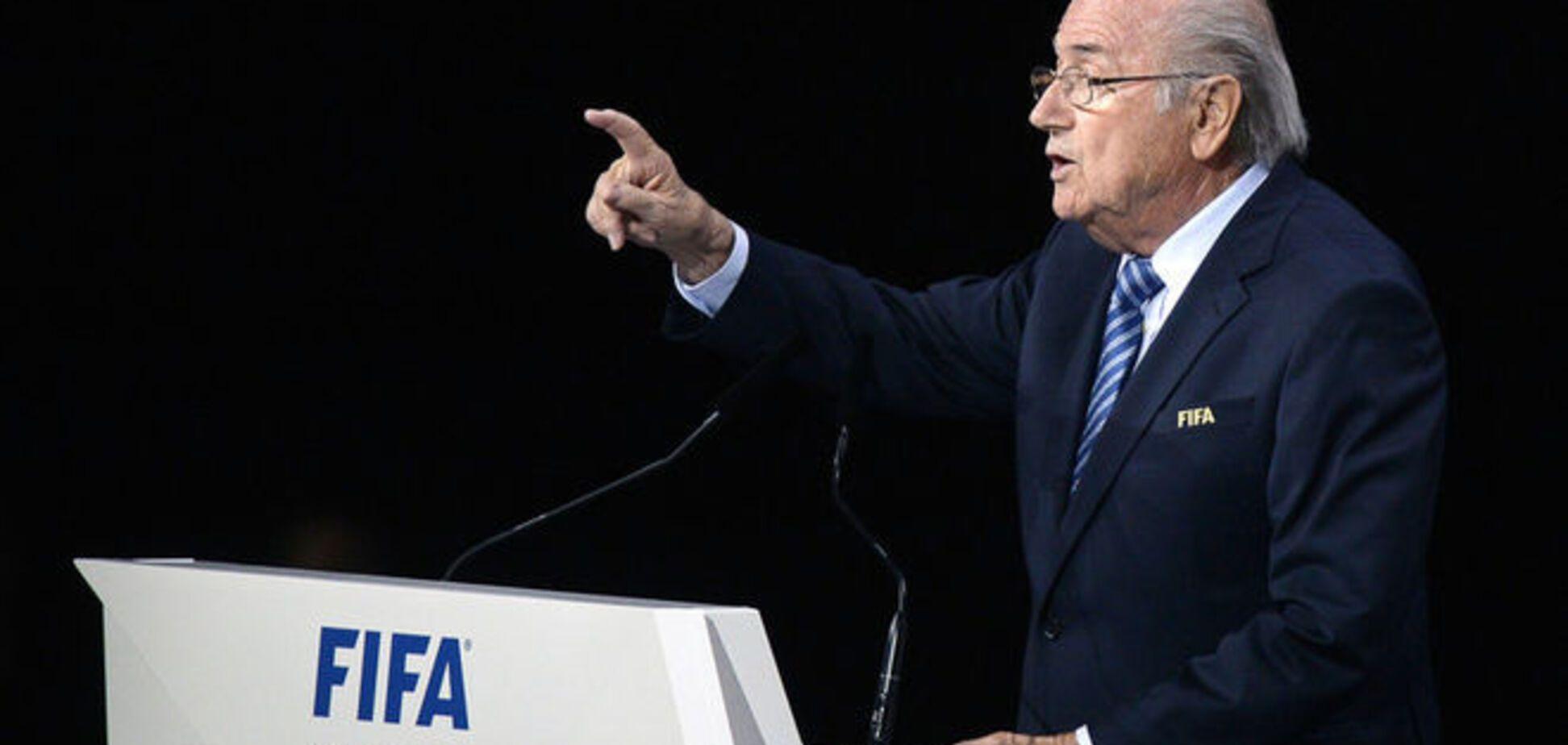 Йозеф Блаттер переизбран президентом ФИФА