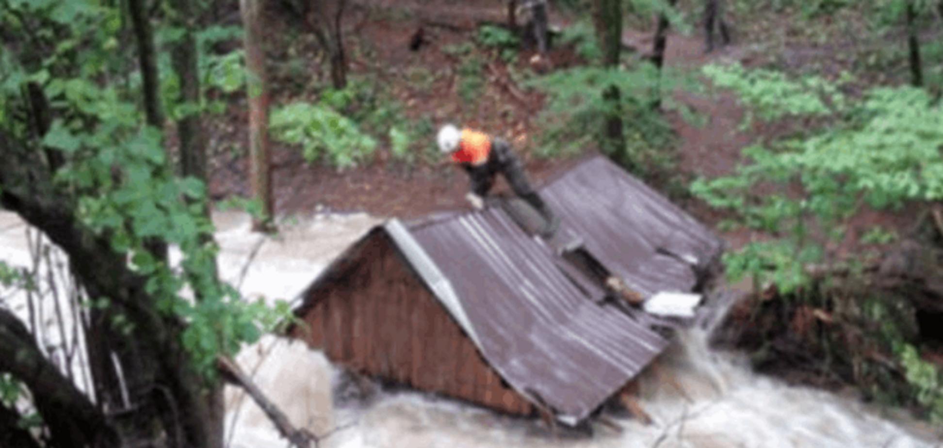 На аннексированный Крым обрушились сильные ливни: фотофакт