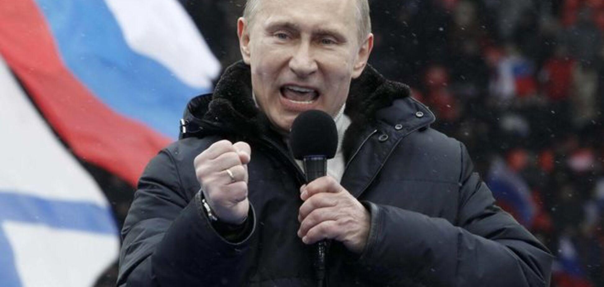 Путин с упорством настаивает: да, я опасный псих