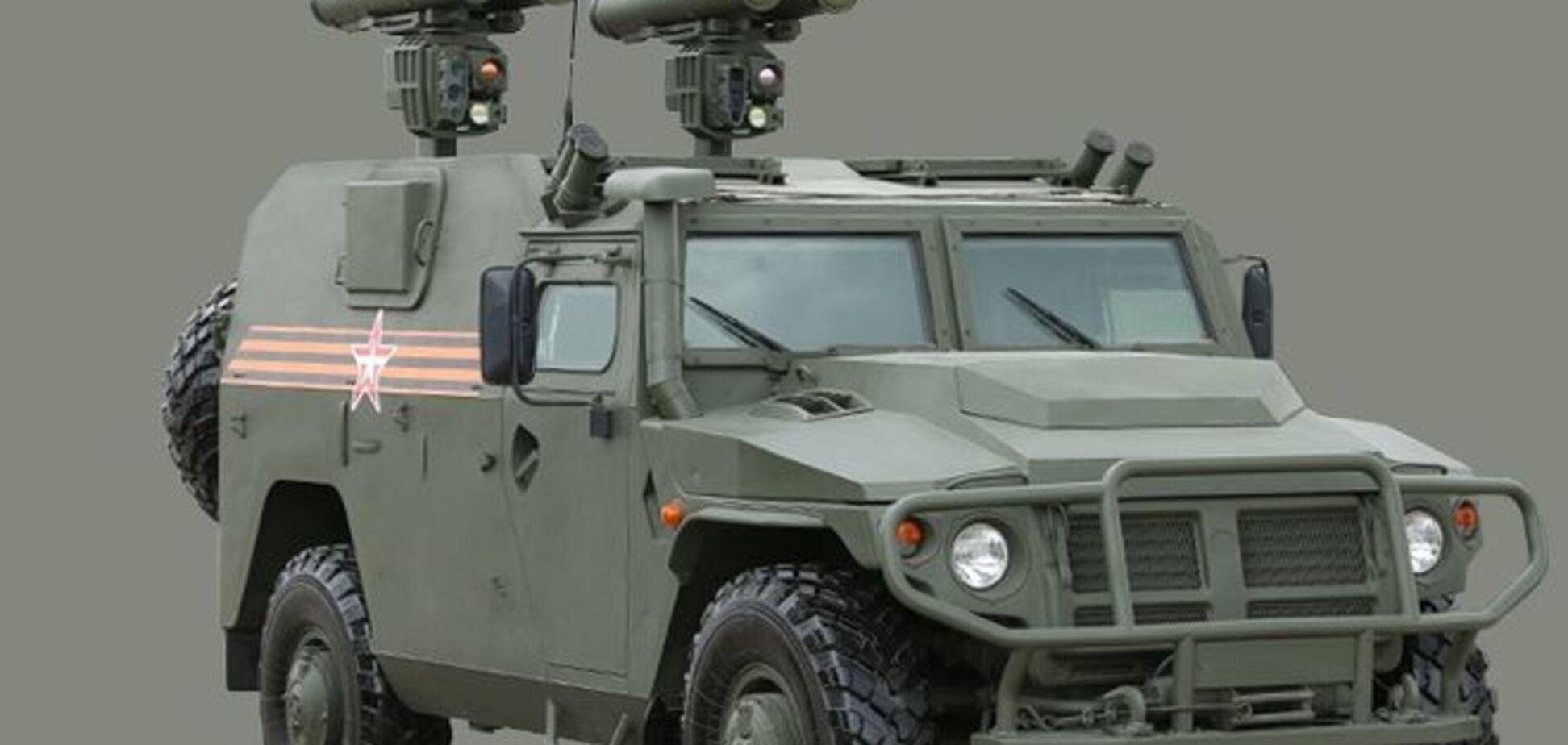 В сети появились фото новой российской военной техники
