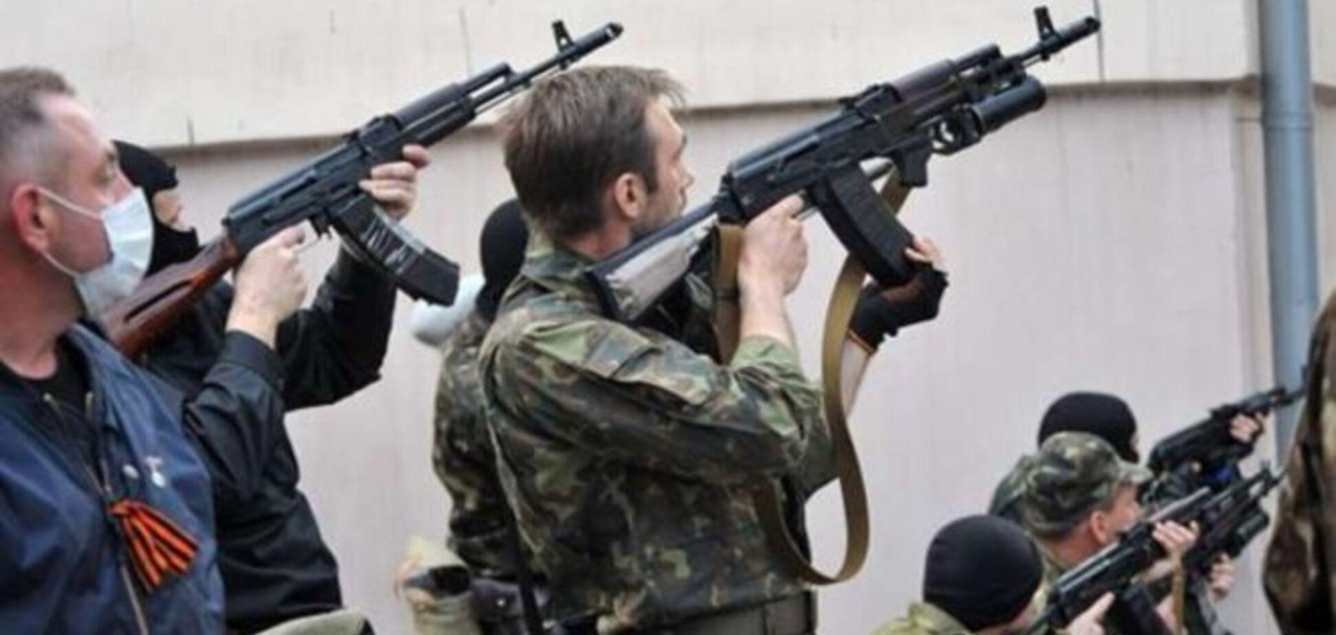 Донецкие террористы планируют расстрелять мирную акцию 9 мая