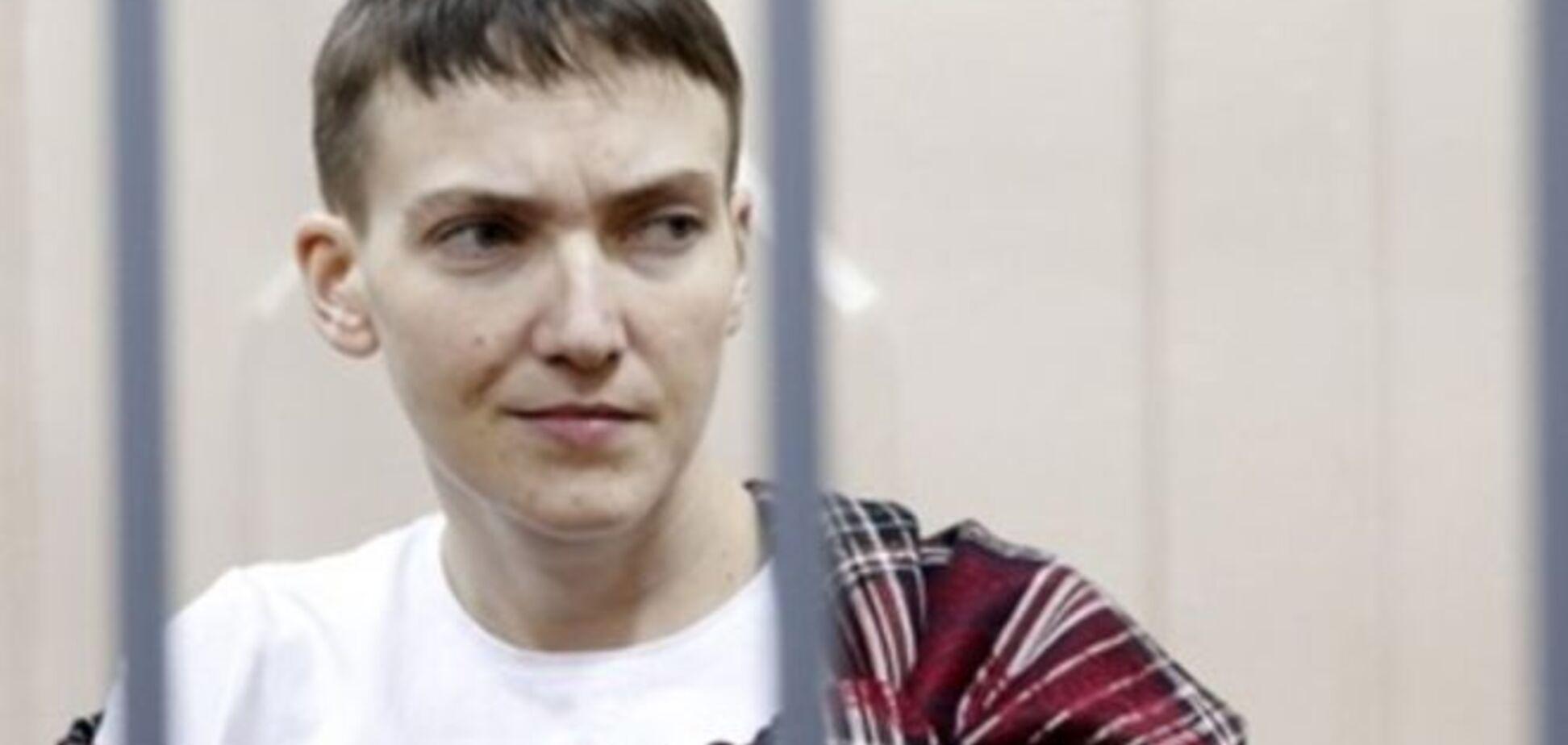 Следком России хочет оставить Савченко за решеткой еще на полгода