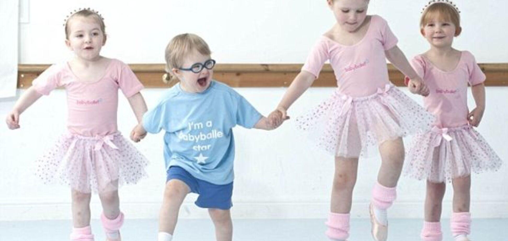Балет развил физические способности малыша с синдромом Дауна