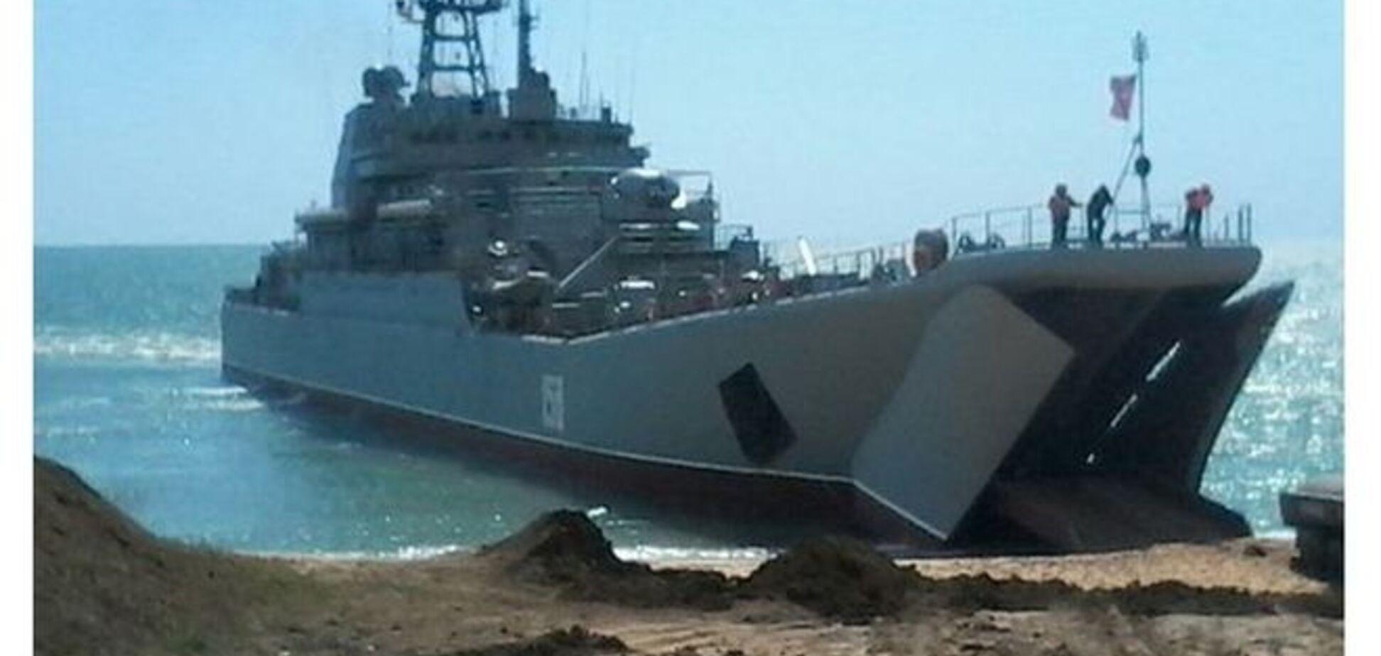 Російські війська проводять інтенсивну підготовку з висадки морського десанту в Криму: фотодокази
