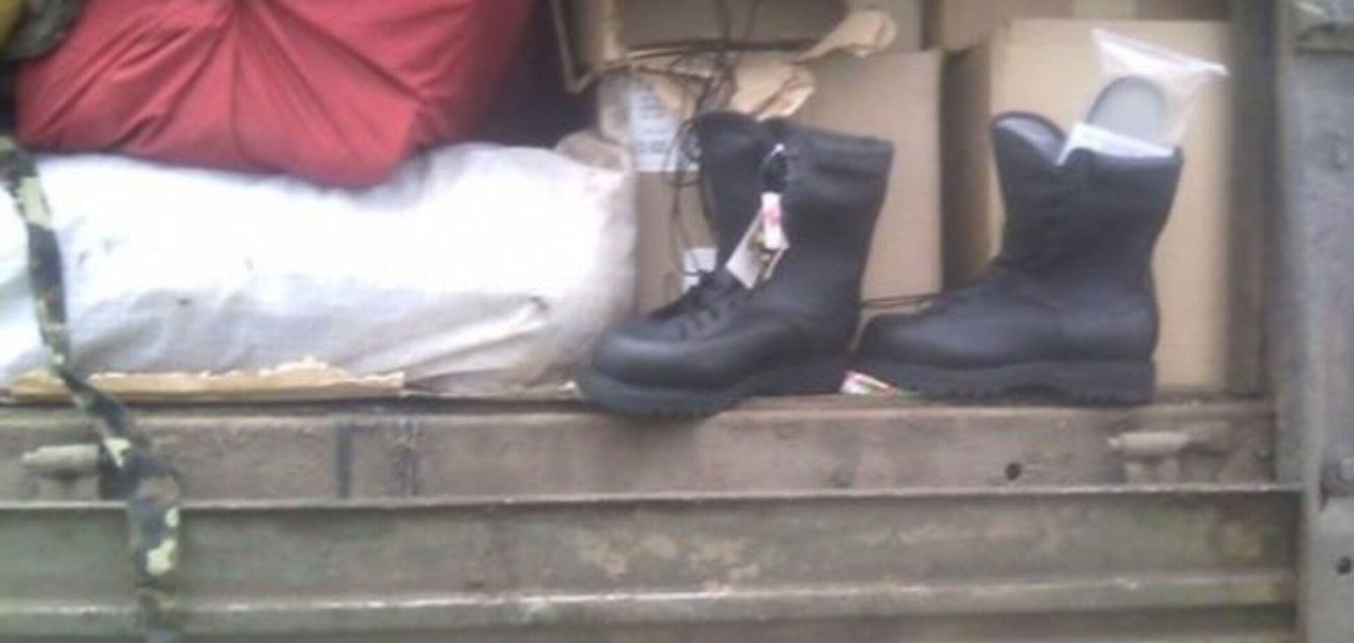 В Одесі затримали вантажівку з краденою гуманітаркою для АТО