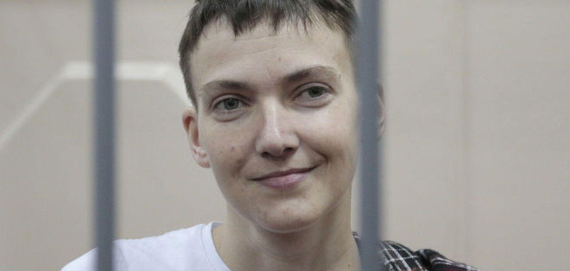 Савченко висміяла потуги російської Феміди в залі суду: відеофакт