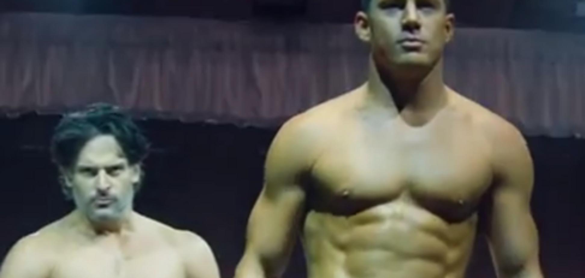Голливудский красавчик Ченнинг Татум засветил свой XXL размер: опубликовано видео