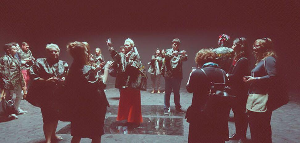 На биеннале 'зеленые человечки' захватили русский павильон
