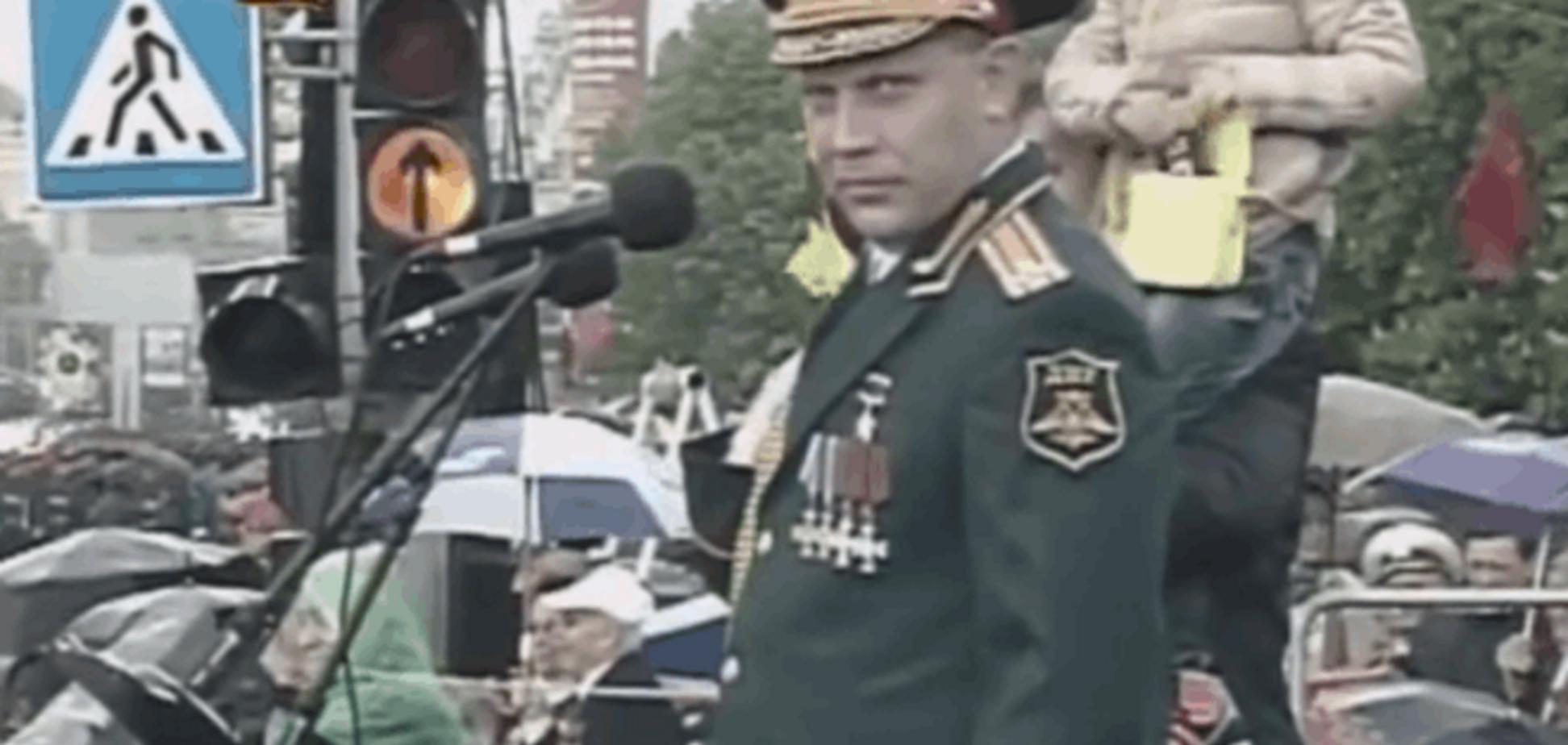 Пьяный Захарченко едва держался на ногах на 'параде' в Донецке: видеофакт