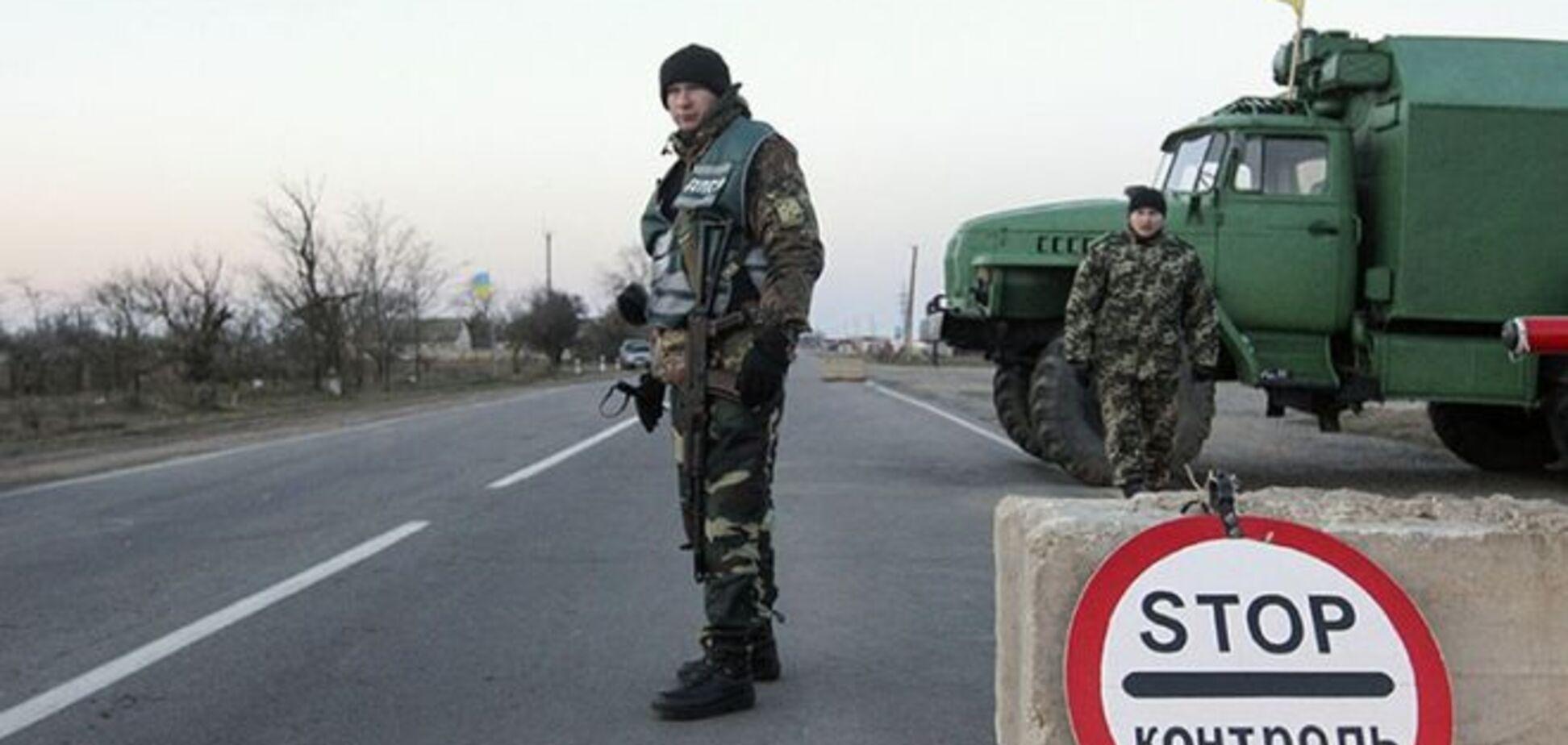 Террористы обстреляли пропускной пункт в момент наибольшего скопления людей