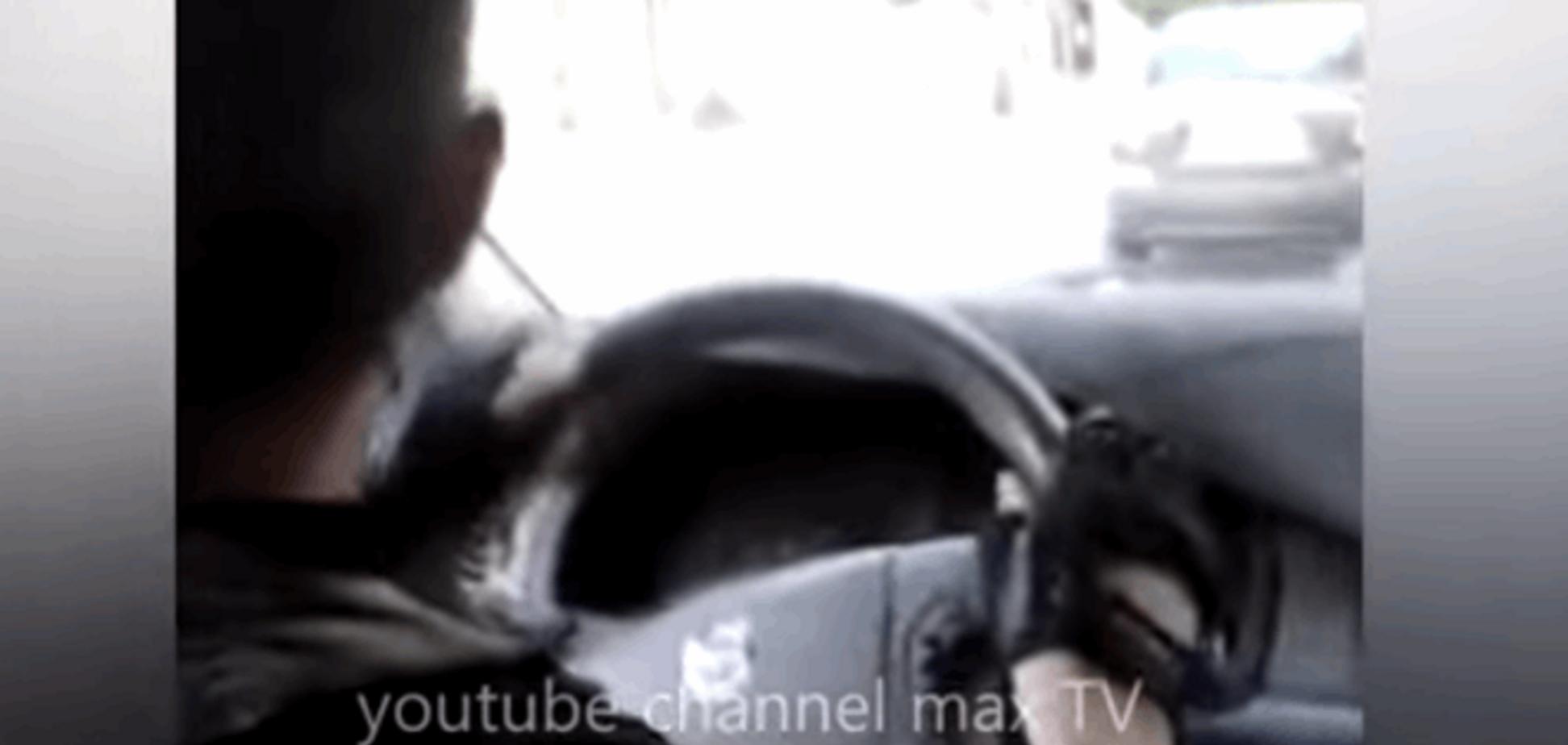 'Нам пох*й светофоры!'. Как террористы разъезжали по Донецку