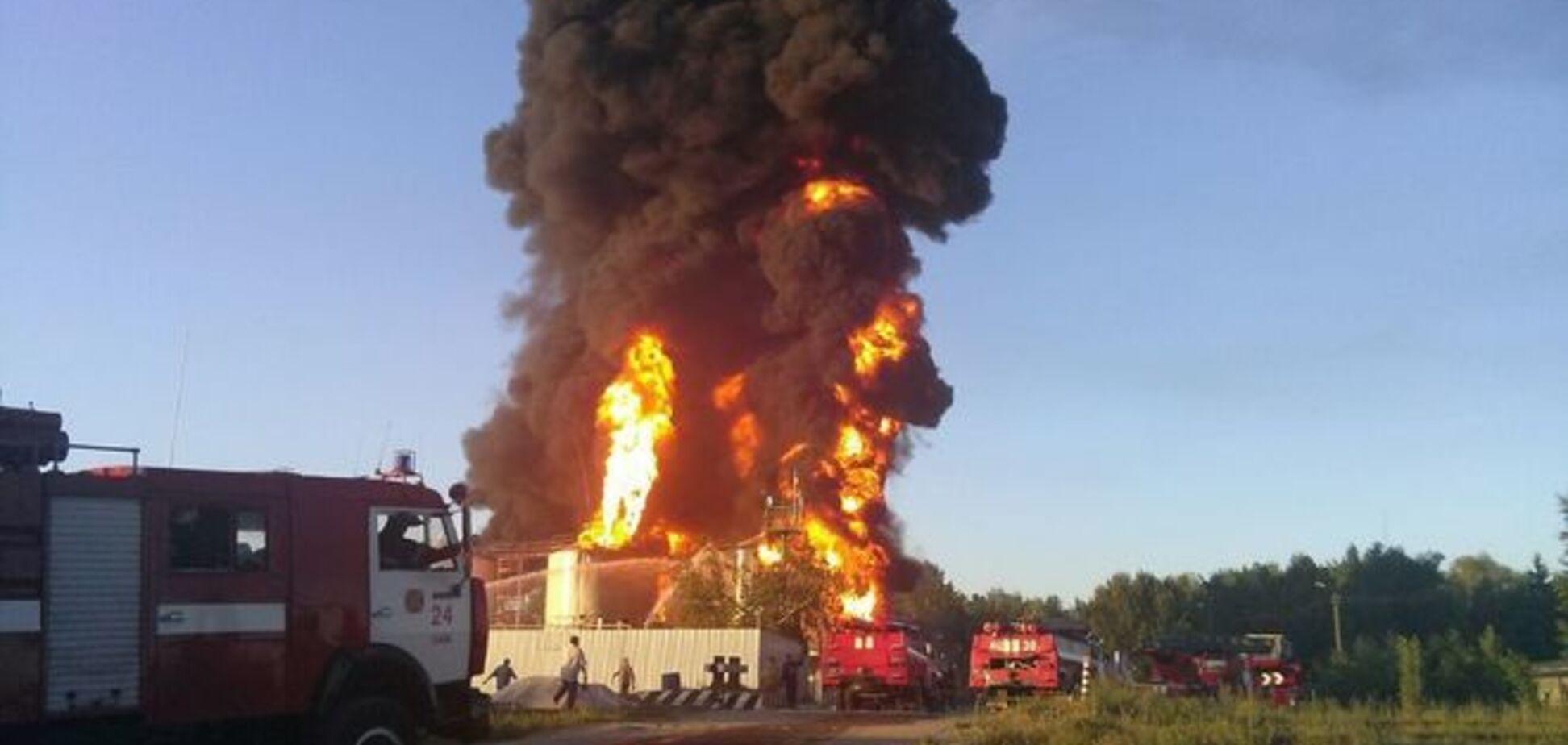 Геращенко назвал новую версию взрыва нефтебазы в Василькове