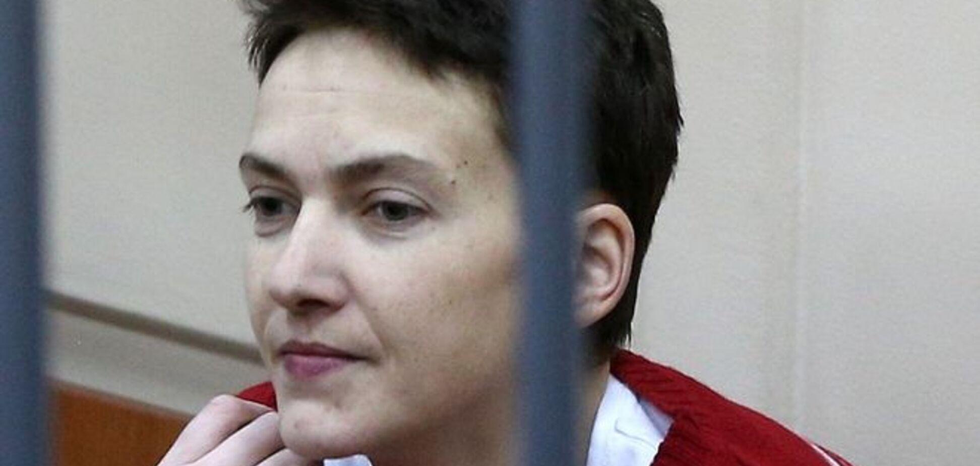 Савченко в суде: я никогда не забуду ваши глаза