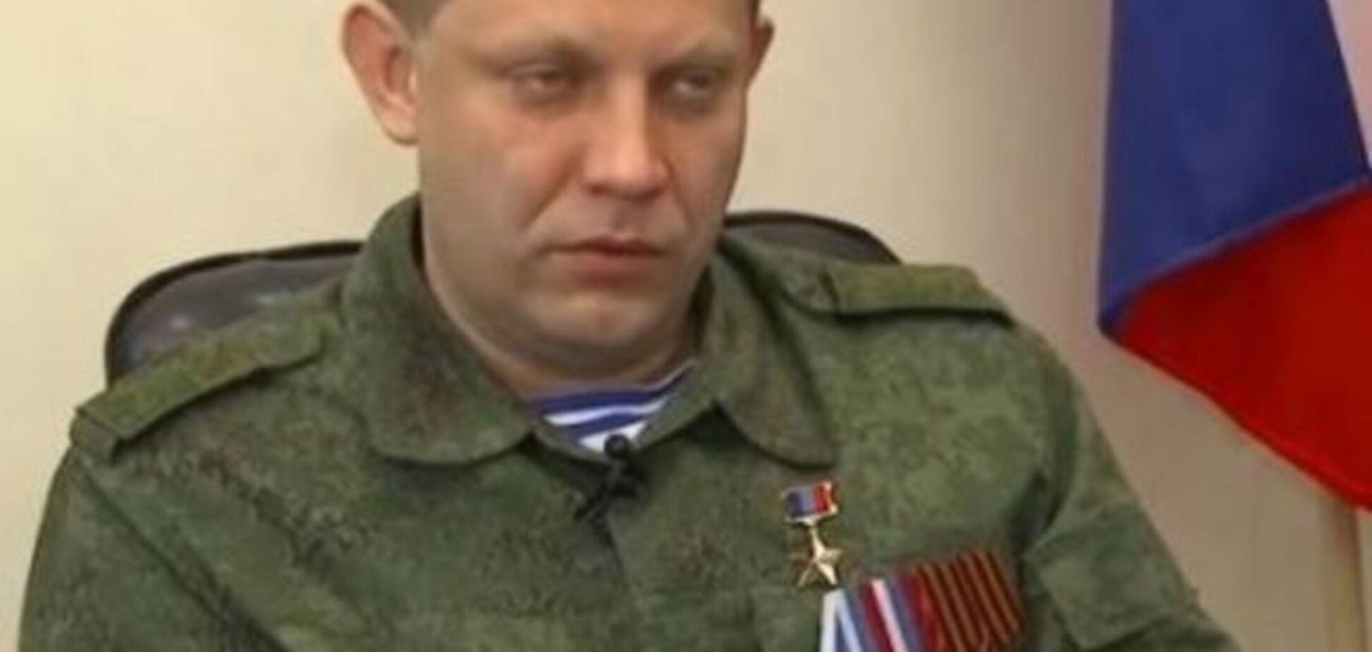 Захарченко: за собой оставляем право обстреливать все, что угодно. Видеофакт