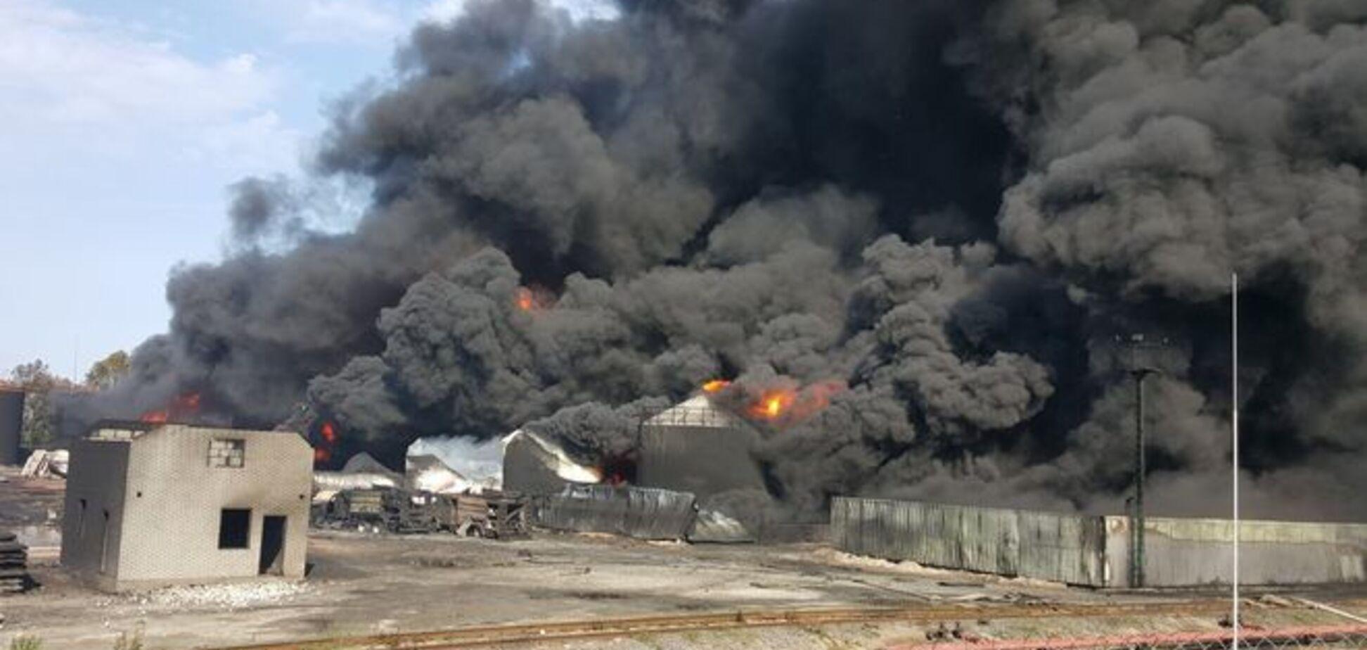 В Василькове опять взорвались цистерны: спасатели справились с ситуацией