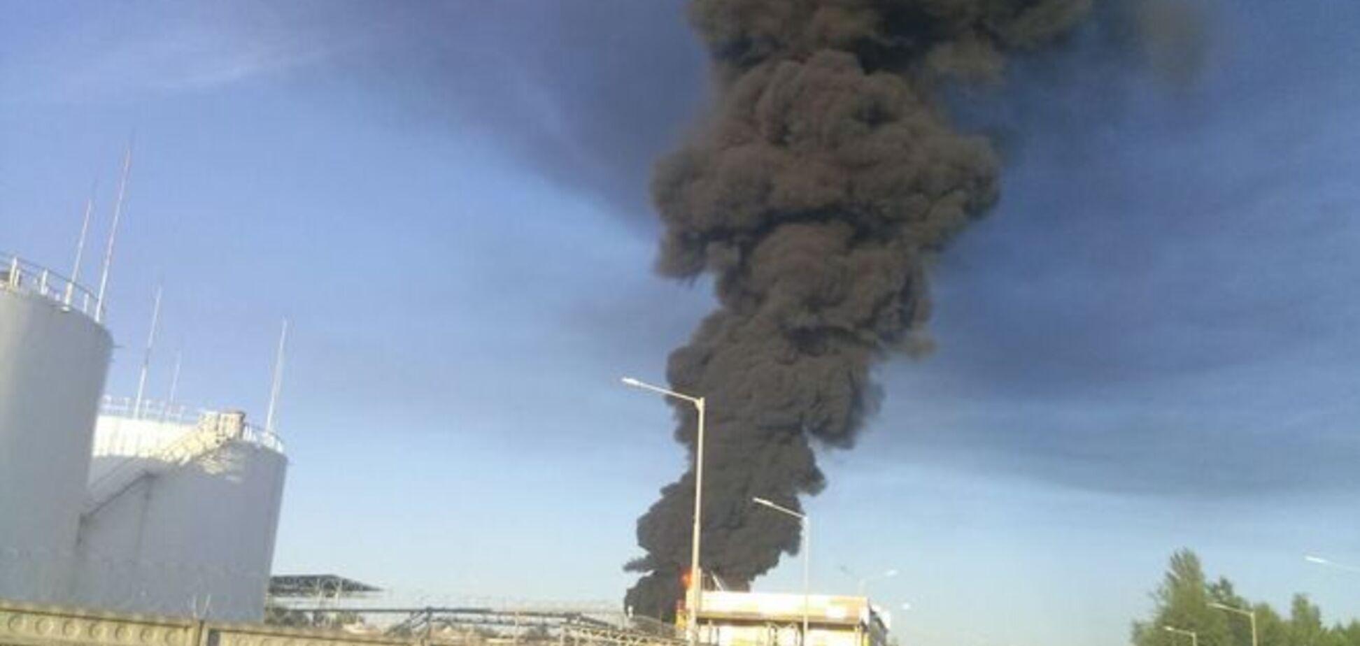 Пожар в Василькове: уровень загрязнения воздуха в Киеве снизился