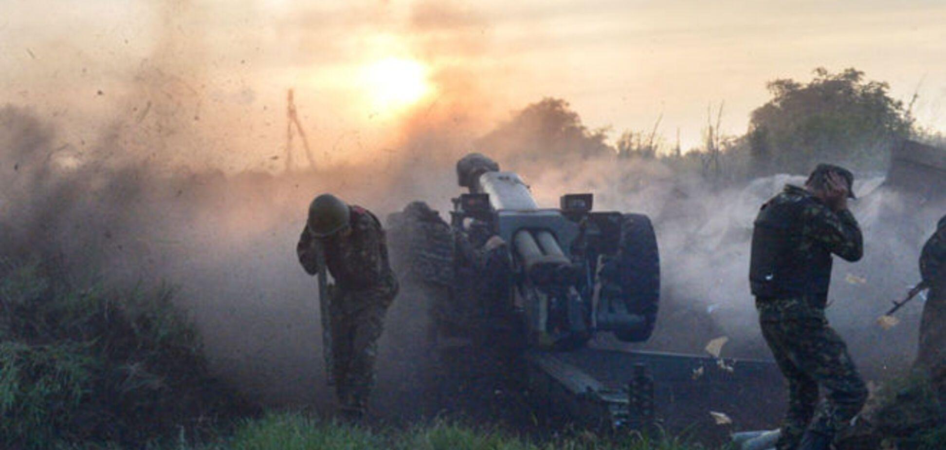 Террористы ударили по околицам Мариуполя из запрещенных артсистем – штаб АТО