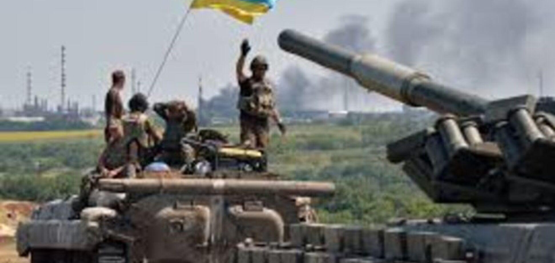 Точно в цель: украинские военные взорвали боекомплект террористов на метеовышке