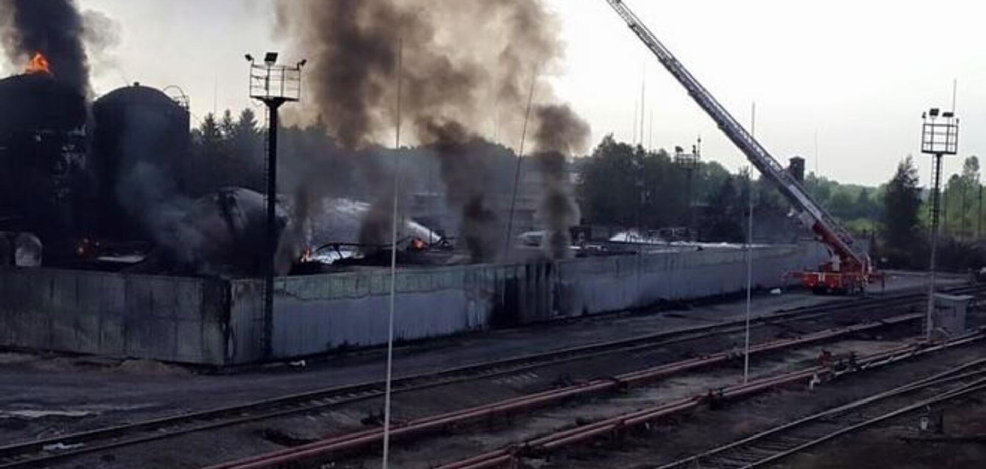 'БРСМ-Нафта' требует международной экспертизы для установления причин пожара на нефтебазе