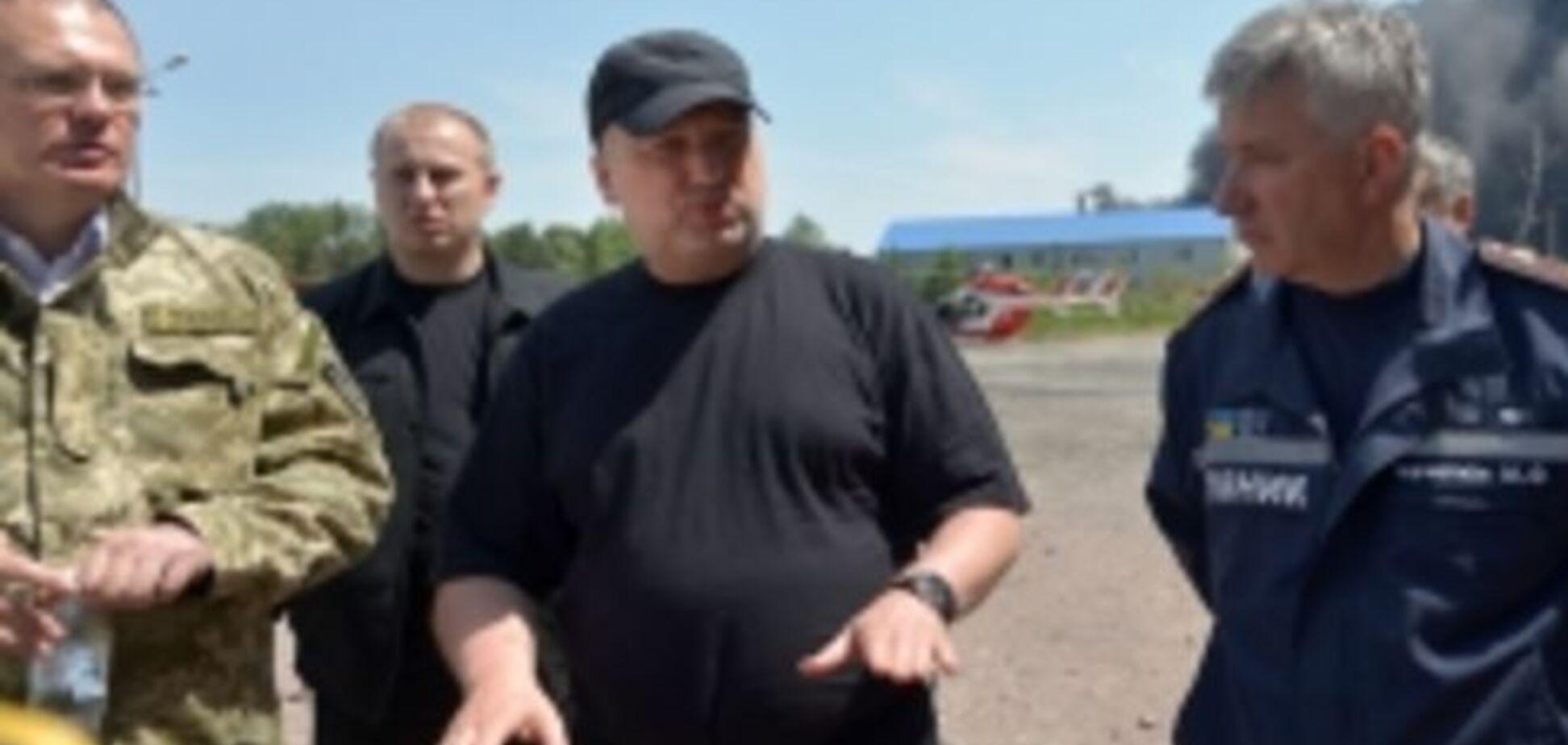 Турчинов сообщил о возросшем числе погибших на пожаре в Василькове