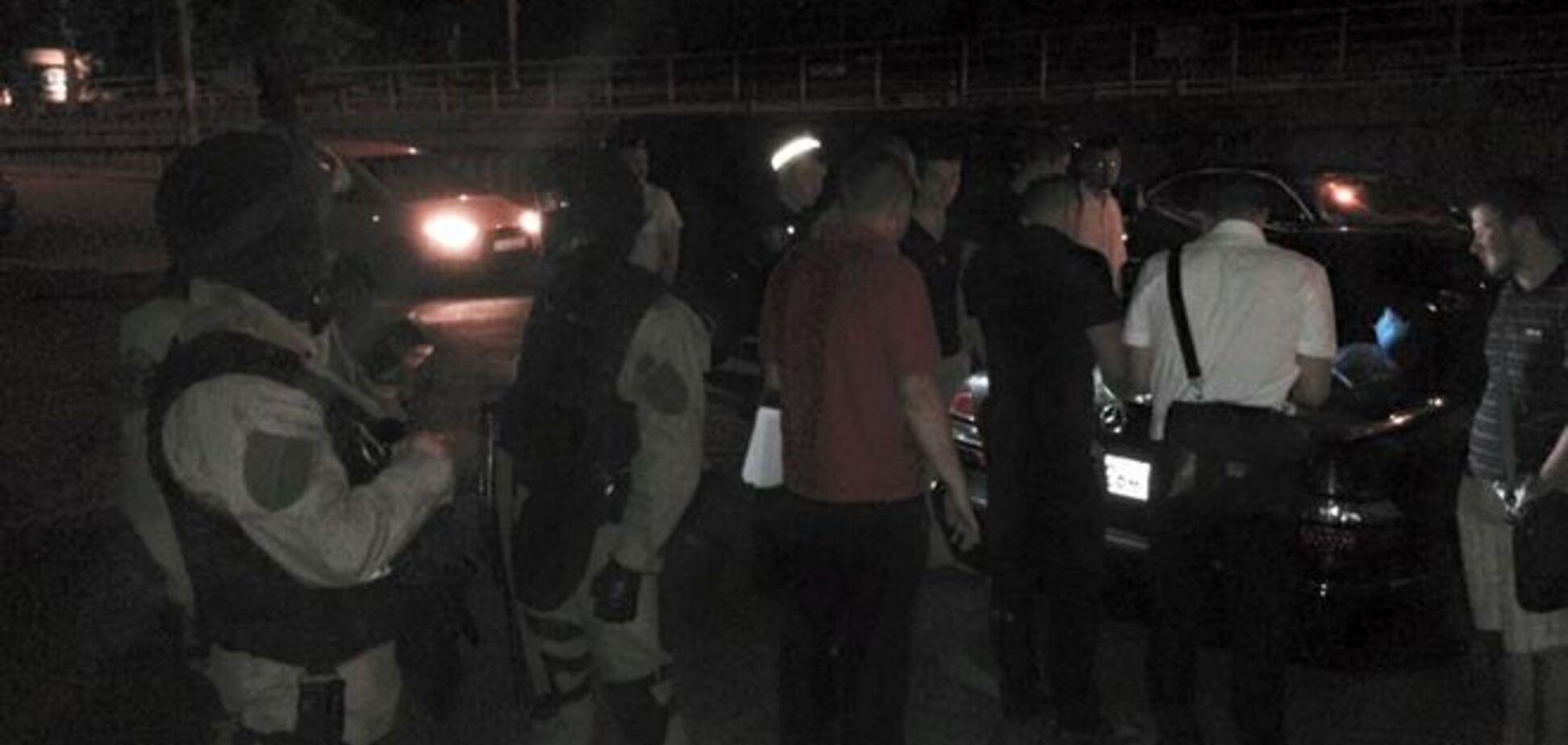 В Киеве 'на горячем' поймали грабителей автомобилей: фото задержания