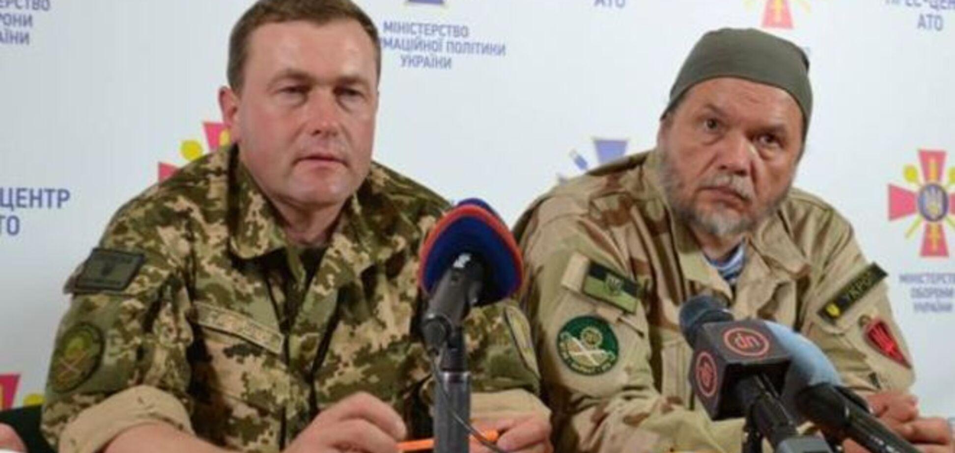 Полковник АТО назвал точное количество российско-террористических войск и их техники на Донбассе