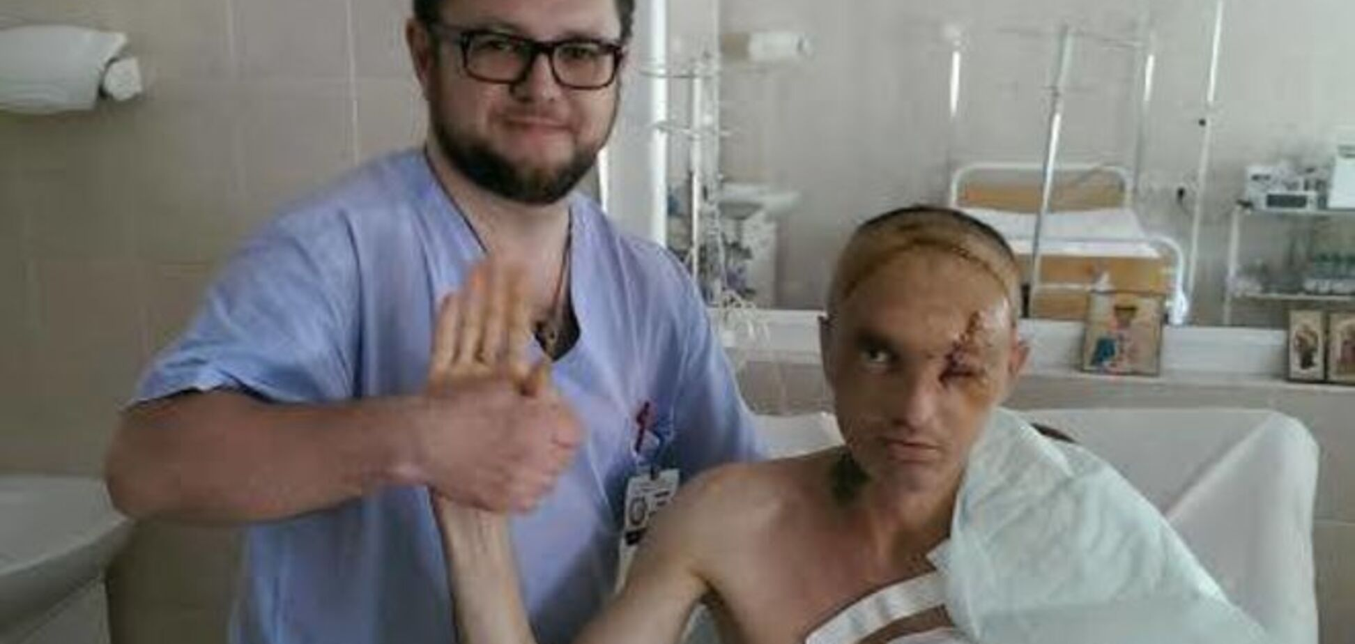 Медики вернули с того света раненого в Марьинке бойца