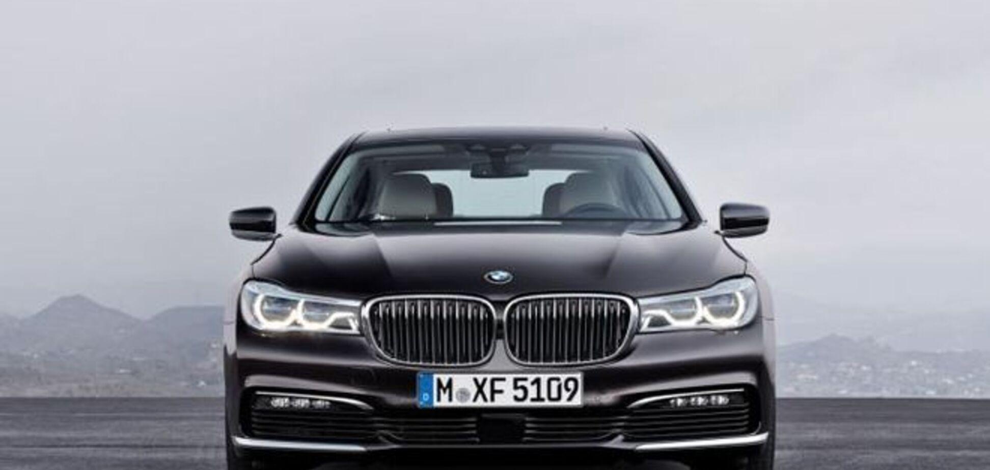 BMW презентовал новую 'семерку': фото и видео шикарного авто