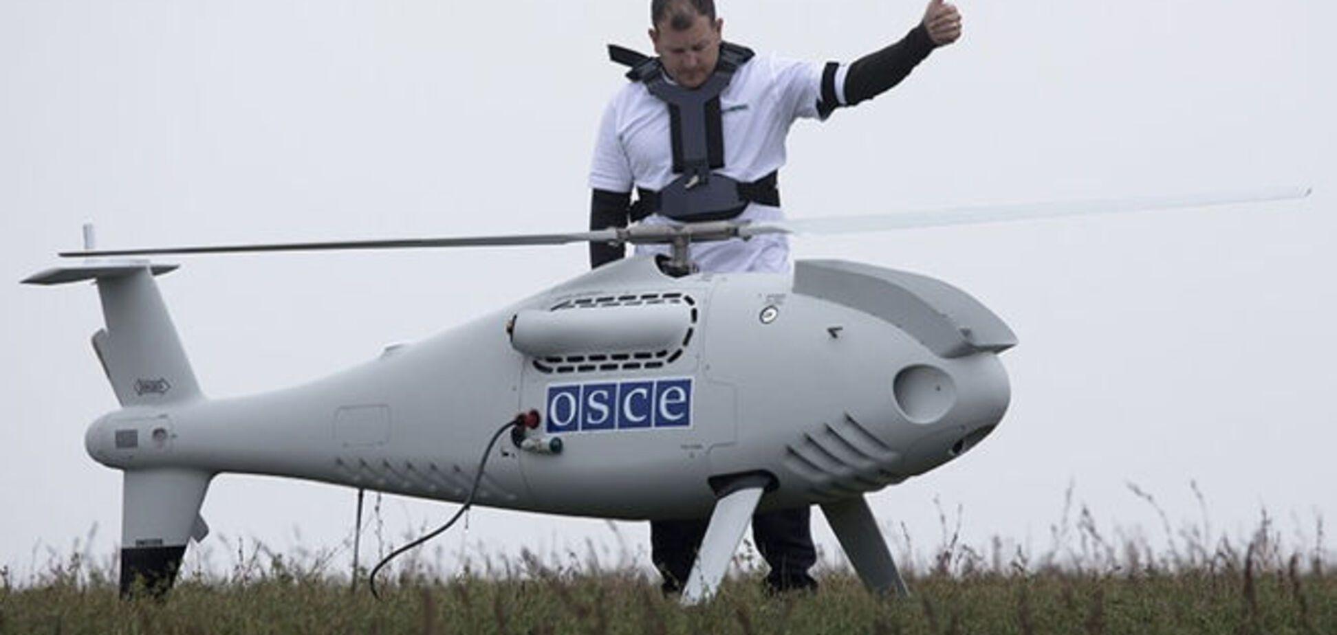 ОБСЕ обвинила Украину и террористов в глушении беспилотников миссии