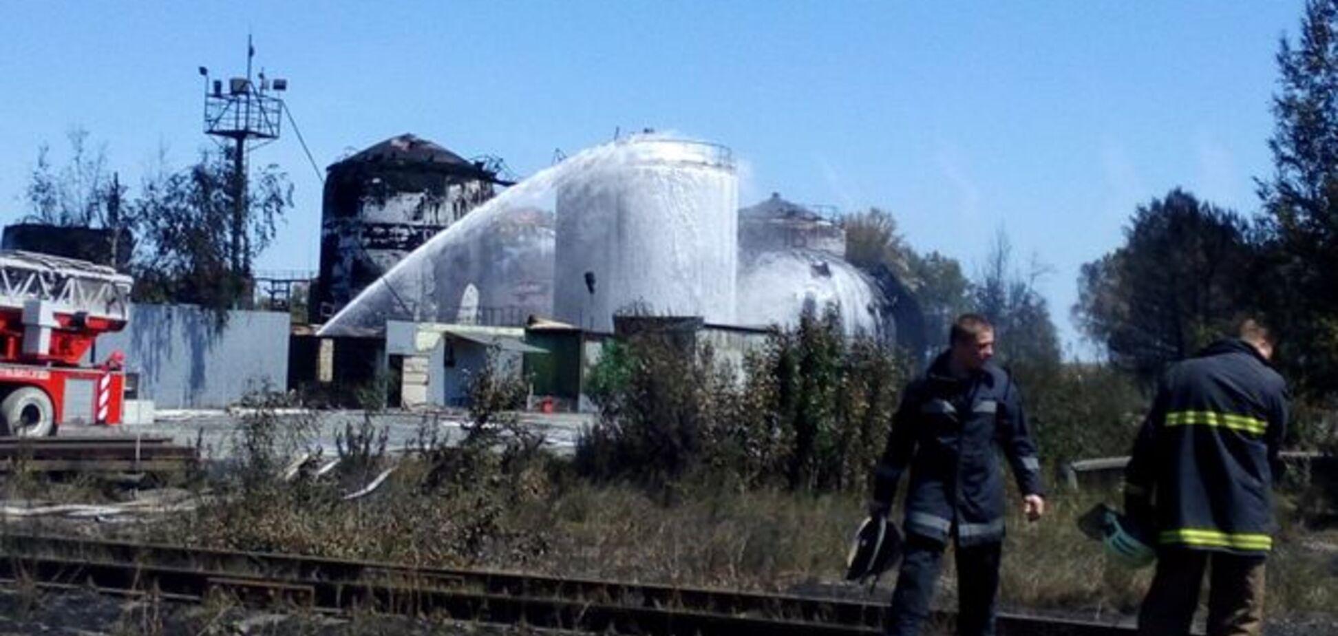 Голова ДСНС заспокоїв українців: пожежа на нафтобазі не зашкодить здоров'ю