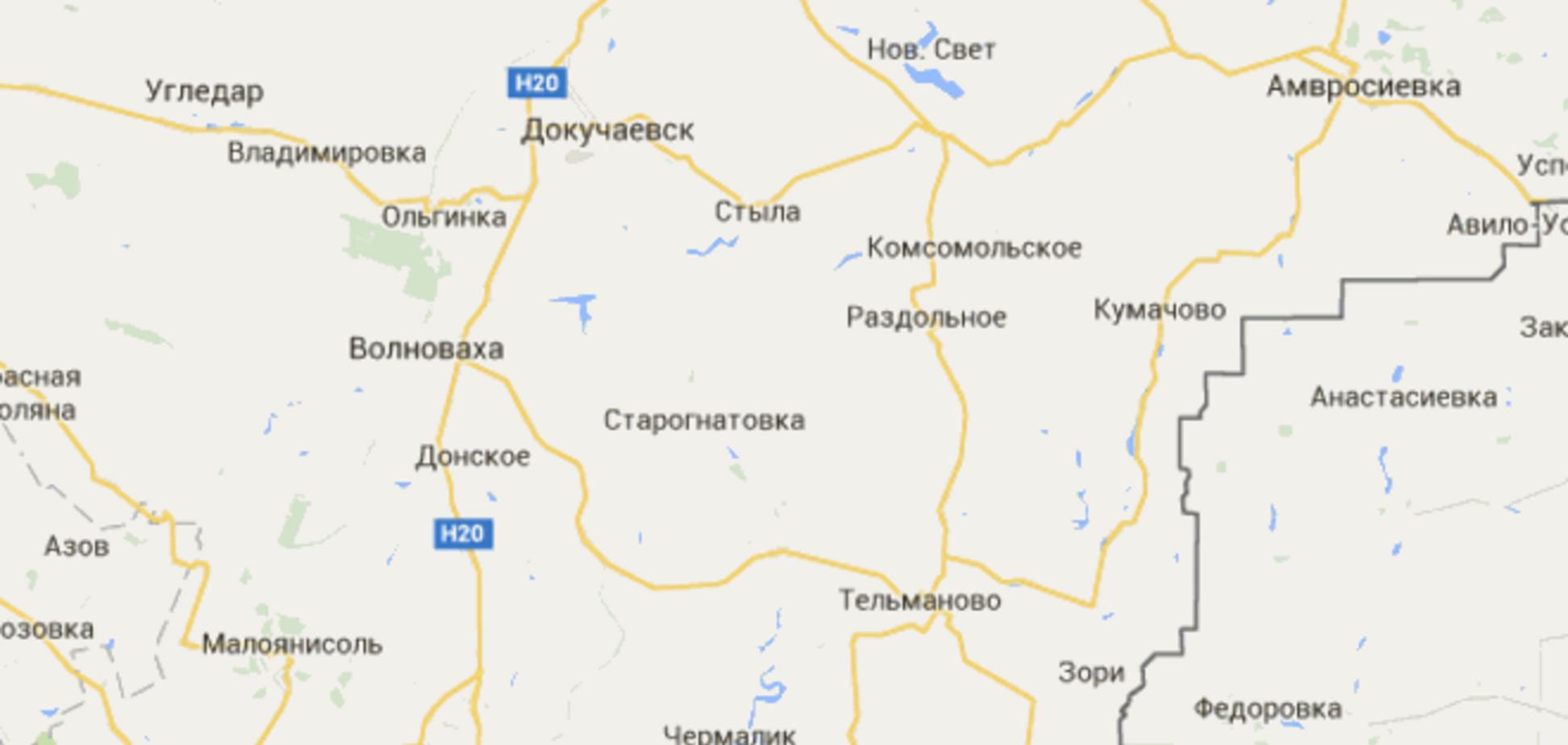 ОБСЕ: вблизи Иловайска и Мариуполя засняли сотню единиц военной техники