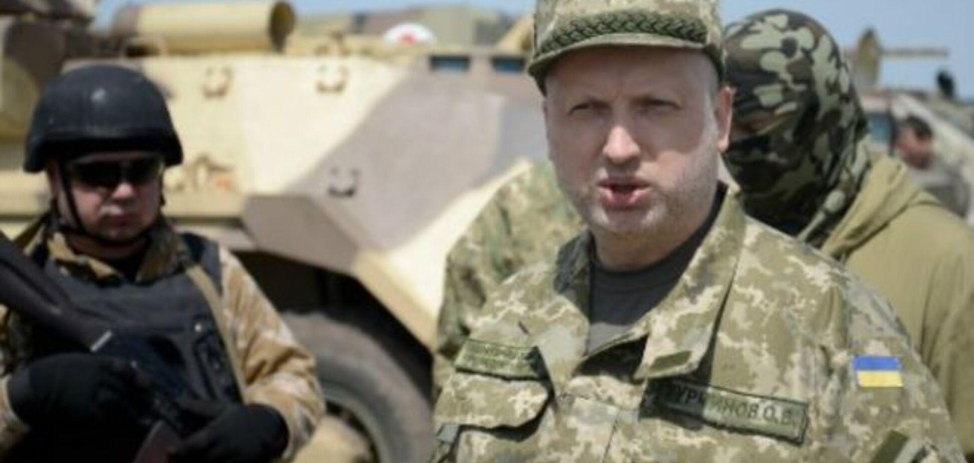 Турчинов объяснил, зачем террористам была нужна атака на Марьинку