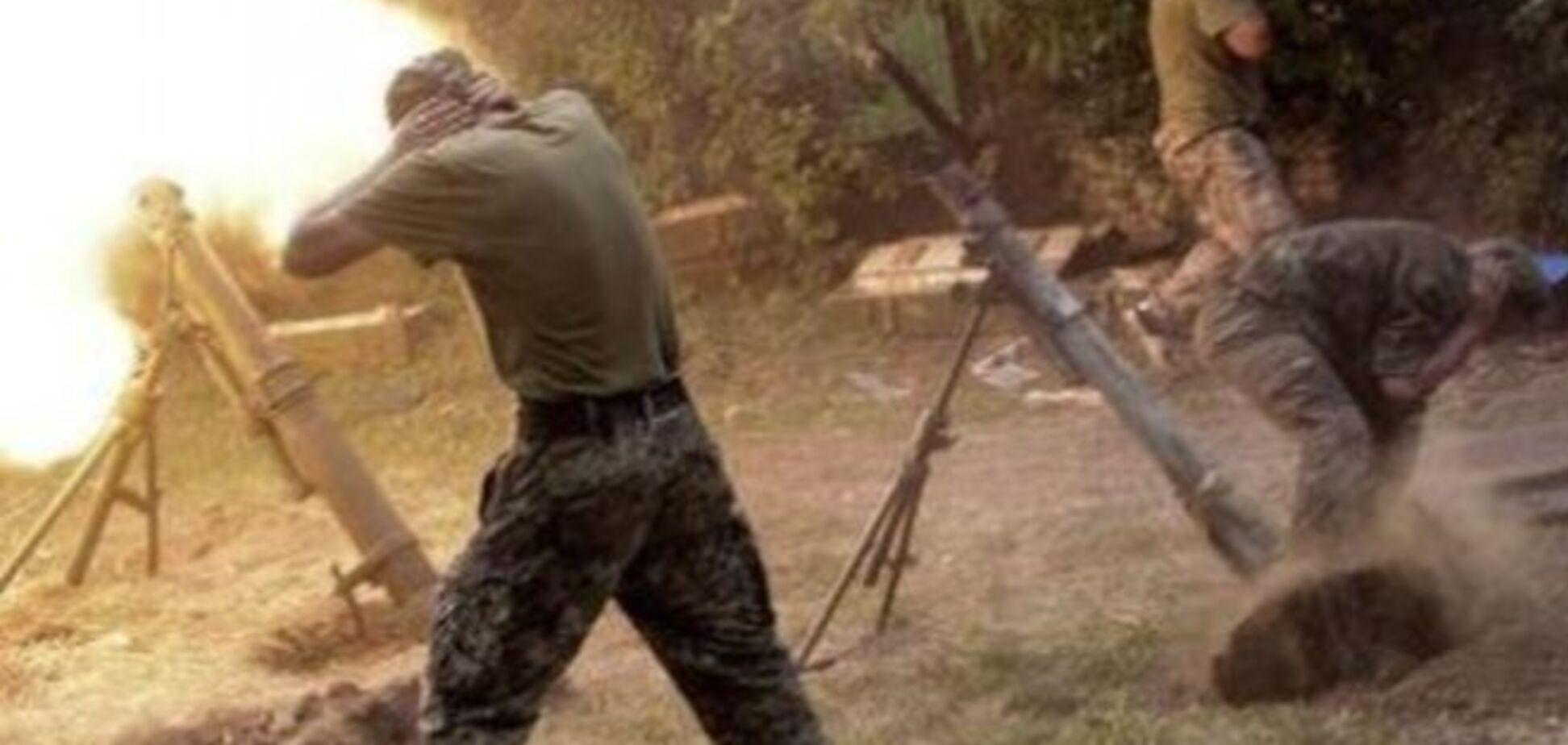 От обстрела террористами позиций сил АТО в Луганской области пострадали четверо наших бойцов