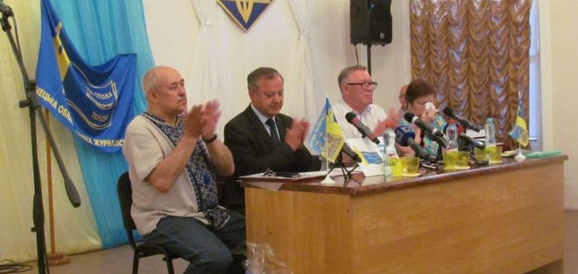 В Мариуполе наградили журналистов, писавших об украинских 'захватчиках'