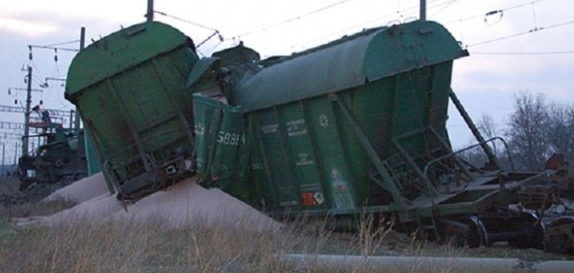 В Кривом Роге произошло крушение поезда