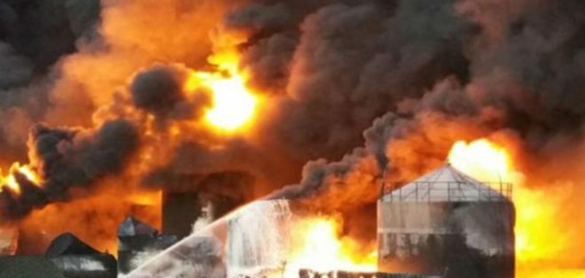 Пожар в Василькове: названы основные версии