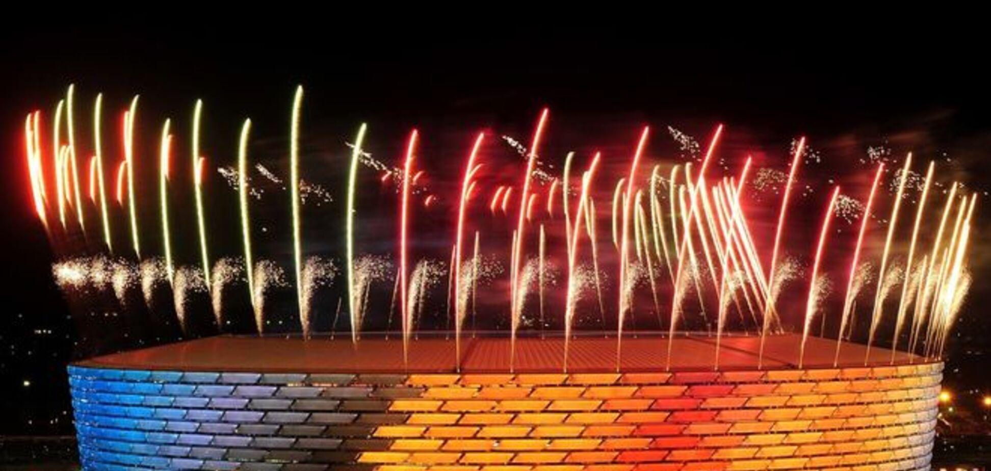 Баку взорвался от эмоций: яркие фото открытия Европейских игр