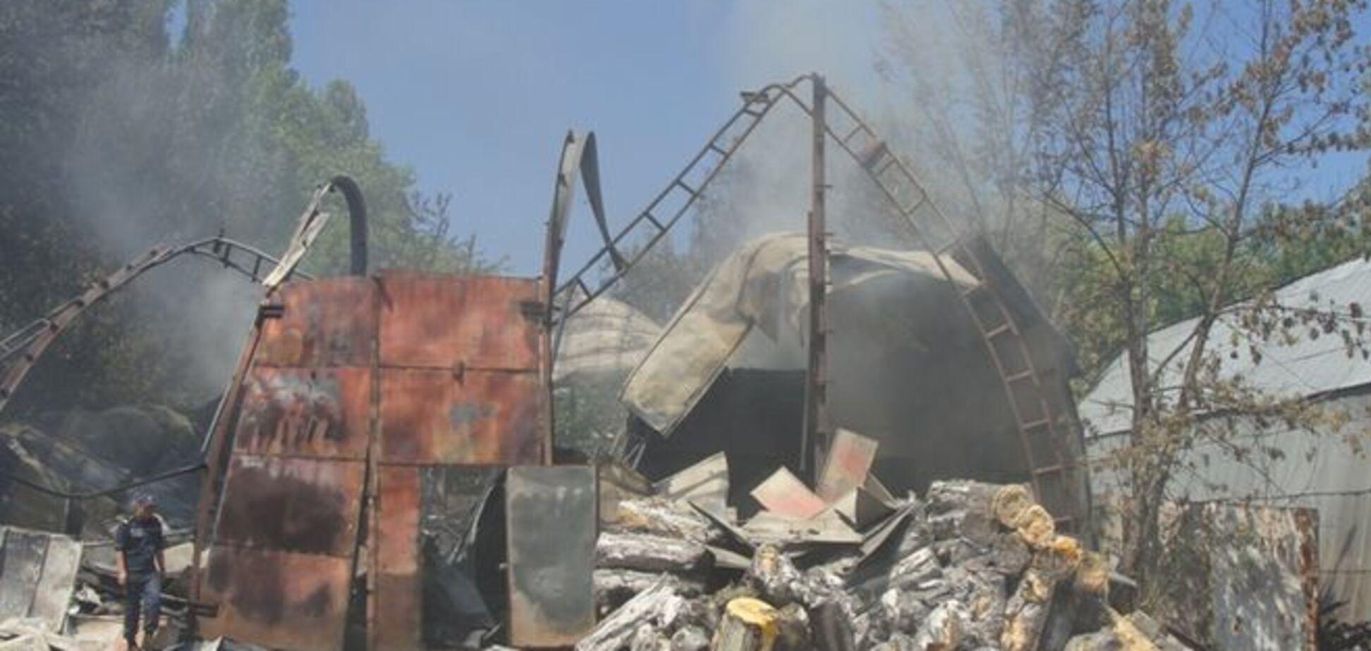 Масштабный пожар в Броварах мог быть вызван поджогом - версия