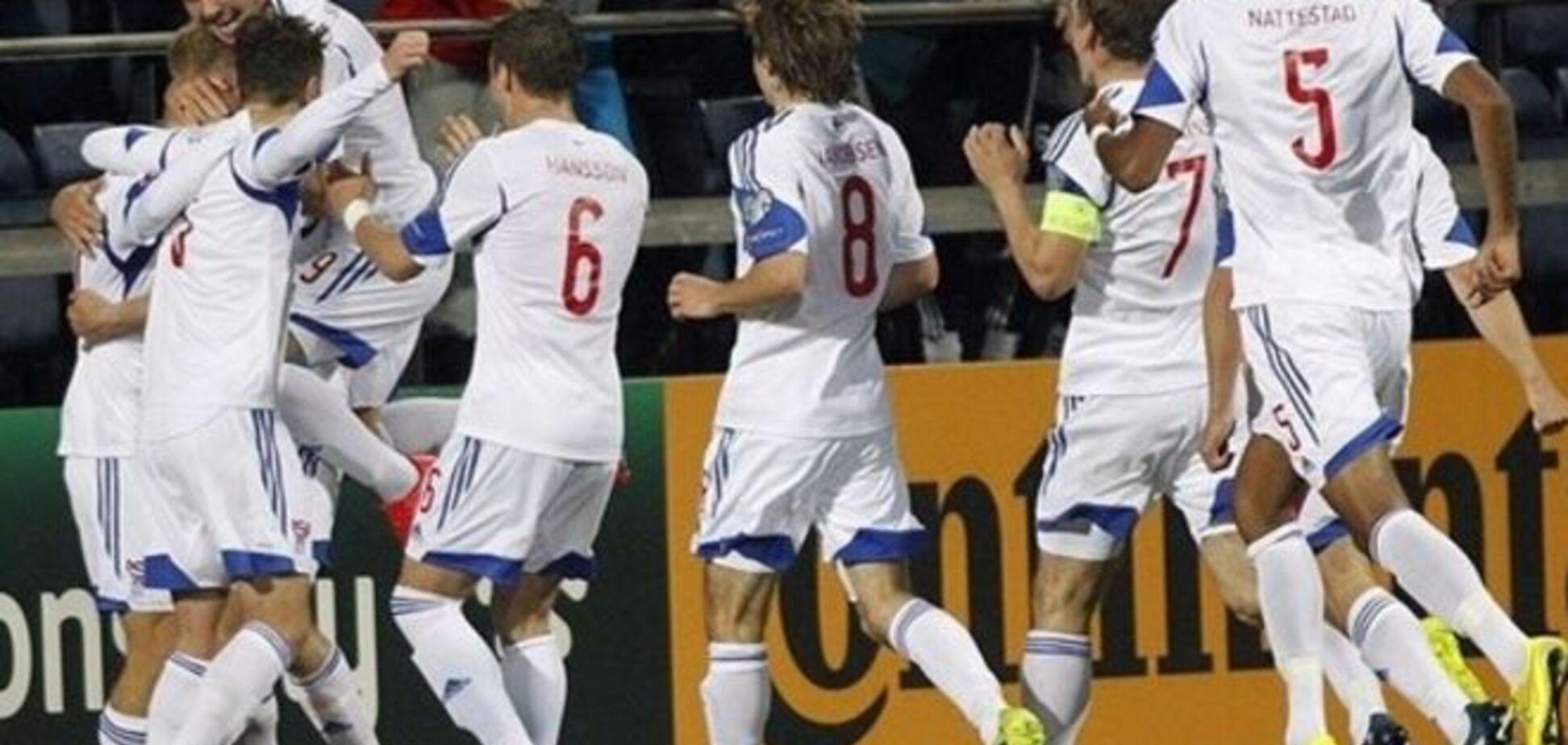 Фареры сотворили громкую сенсацию отбора на Евро-2016