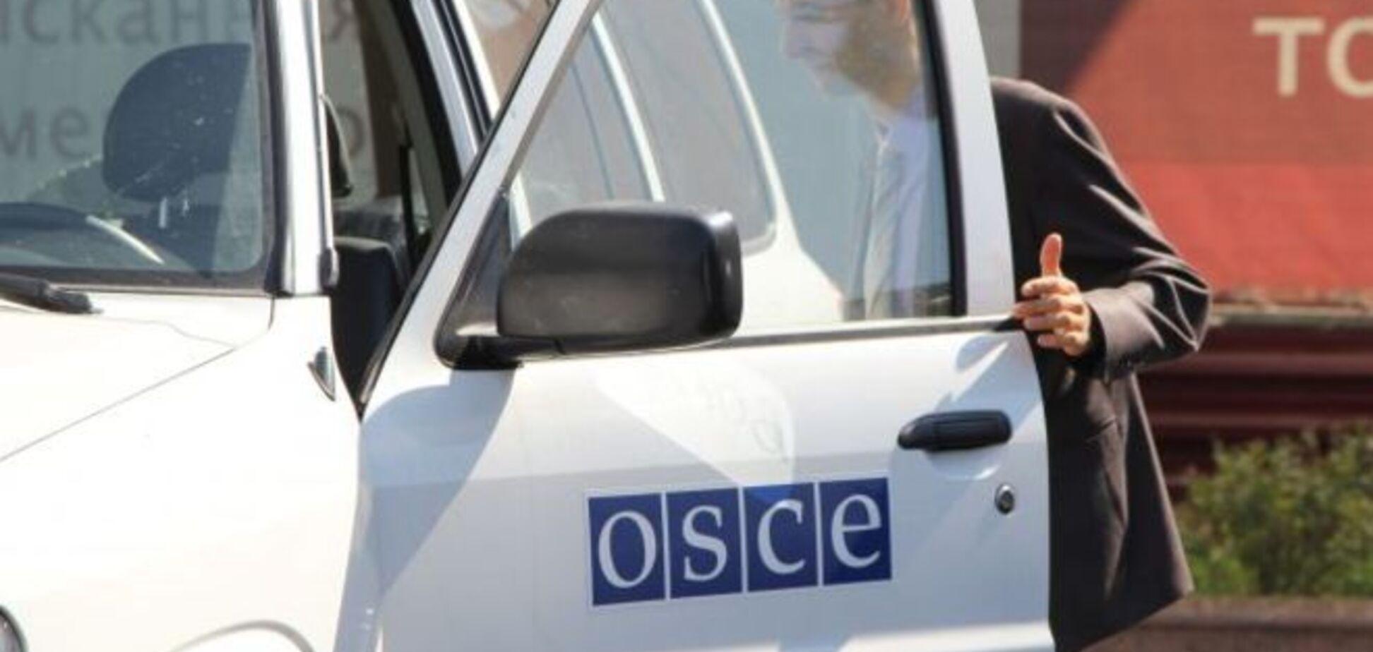 В Горловке 70 местных жителей чуть не растерзали миссию ОБСЕ