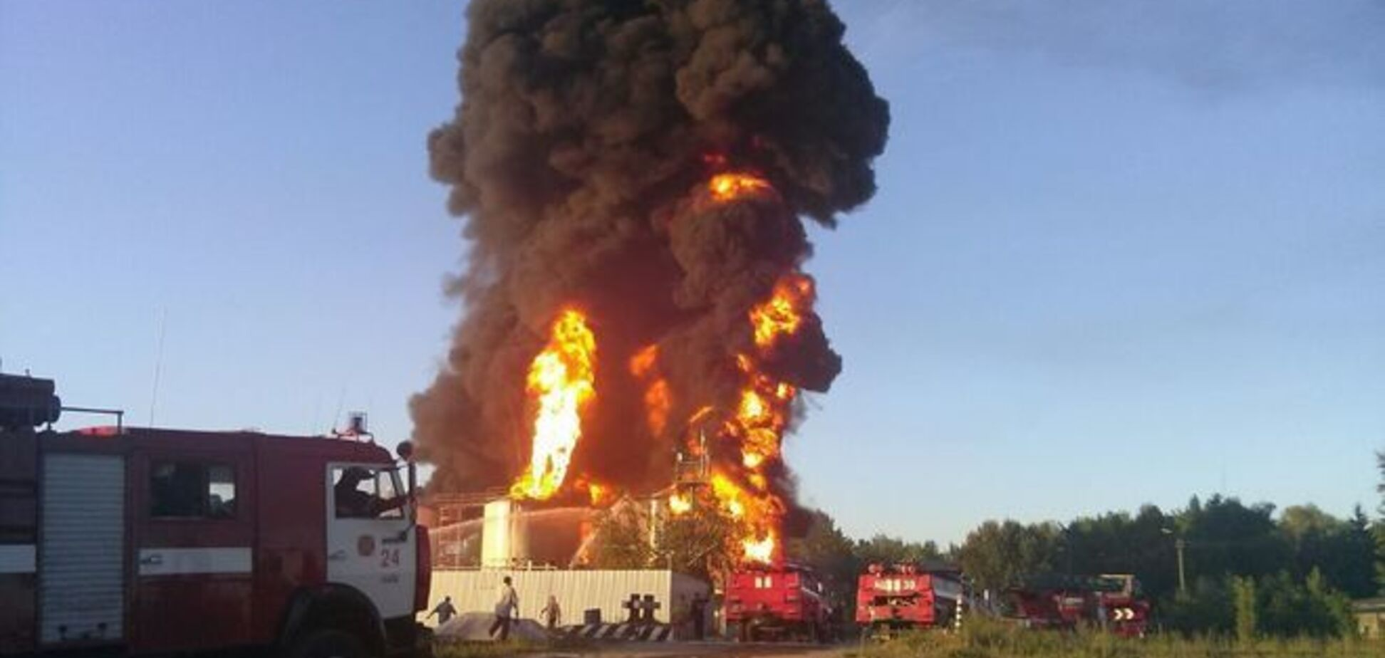 В 'БРСМ' назвали свою версию причины повторного пожара в Василькове