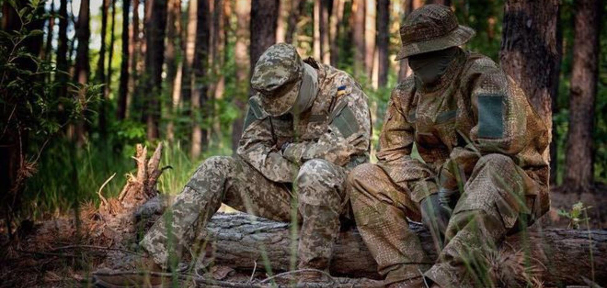 Бойцов АТО оденут в камуфляжи-'невидимки': фотофакт