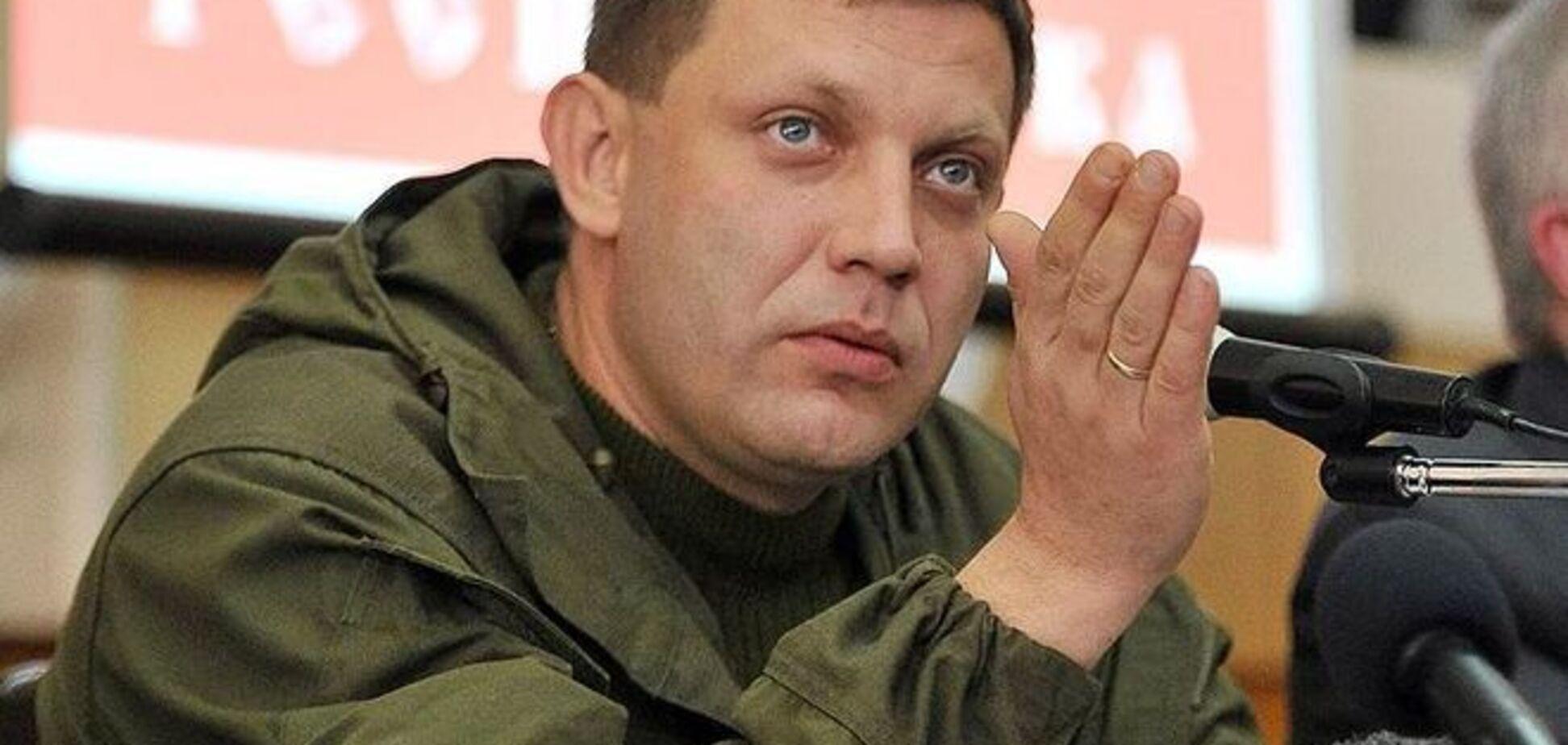 Захарченко из поселка Октябрьский решил убрать людей вместо техники