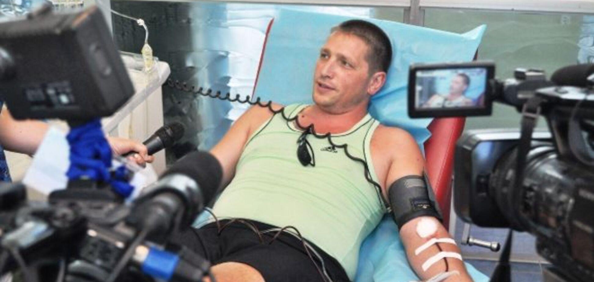 Днепропетровские доноры крови спасли жизнь 500 бойцов АТО