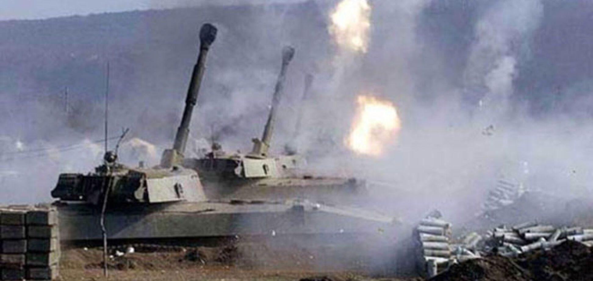 Террористы перебросили под Мариуполь тяжелую артиллерию